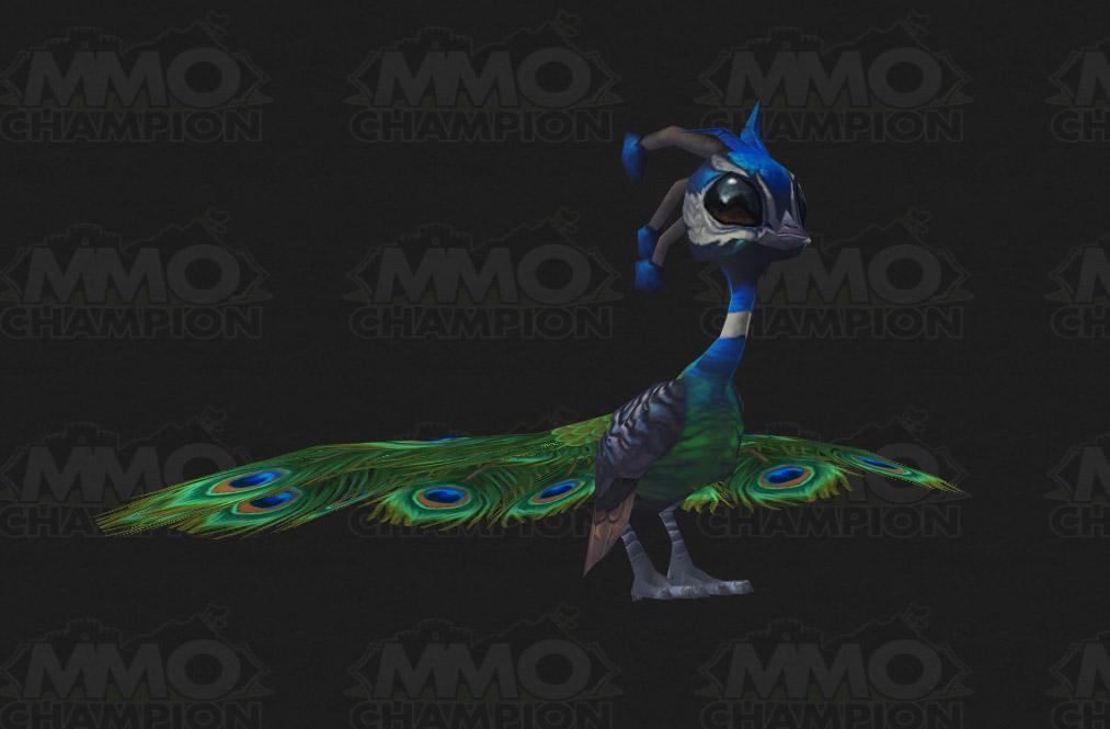 Datamined peacock