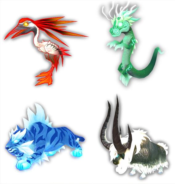 Celestial pets