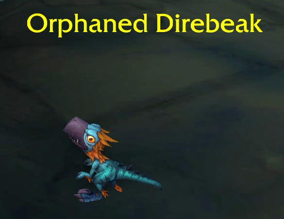 Orphaned Direbeak