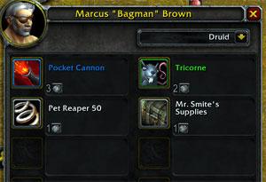 Marcus Bagman Brown's wares