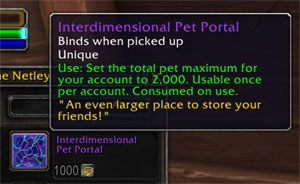 Interdimensional Pet Portal