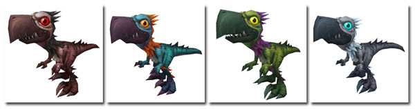 4 New Falcosaurus pets