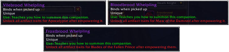 Locked Death Knight pets