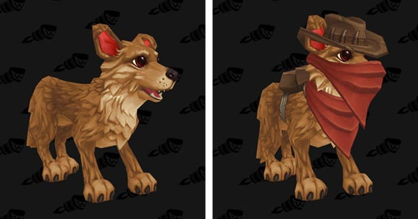 Australian Shepherd Pups datamined by Wowhead