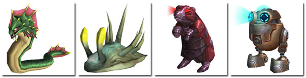 2 new wild Nazjatar pets, 2 new wild Mechagon pets