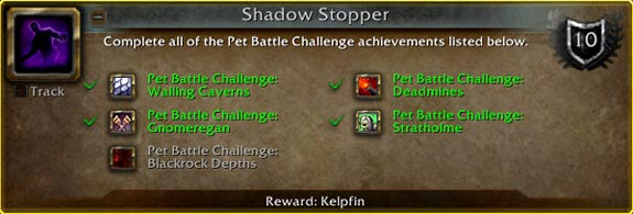 Shadow Stopper meta-achievement