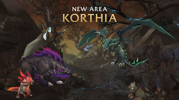 Korthia, new zone