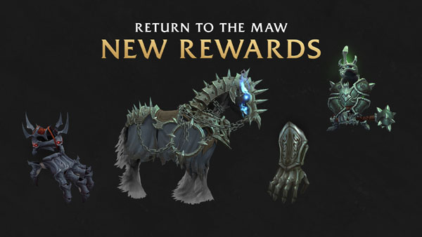 The Maw new rewards