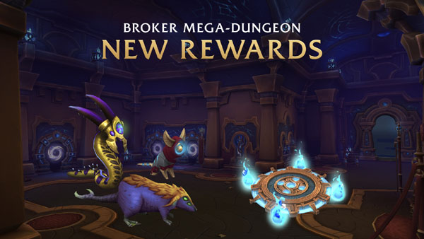 Mega-dungeon rewards