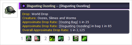Approximate Drop Rates for WoW Pets Updated