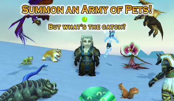 Summon an army of pets - but what's the catch?