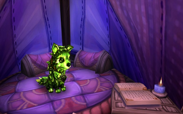 Fel Pup from Blizzard's Preview 6.2 – Pets Galore