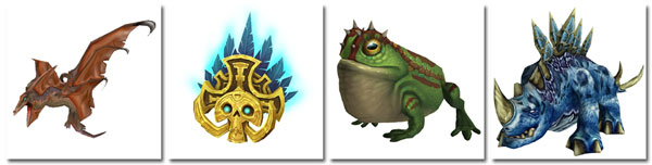 4 new Battle of Dazar'alor Raid-Dropped Pets