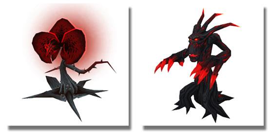 Nightmare Lasher and Nightmare Treant