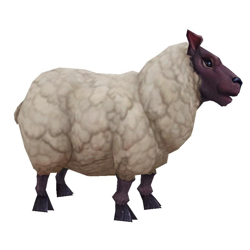 New sheep model in Legion