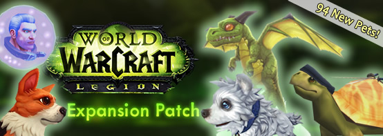 Over 90 New Legion Pets!