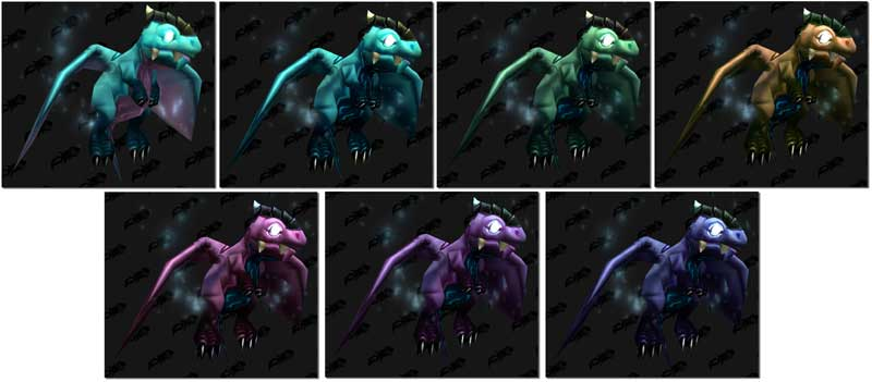 new Outland dragon whelp colors