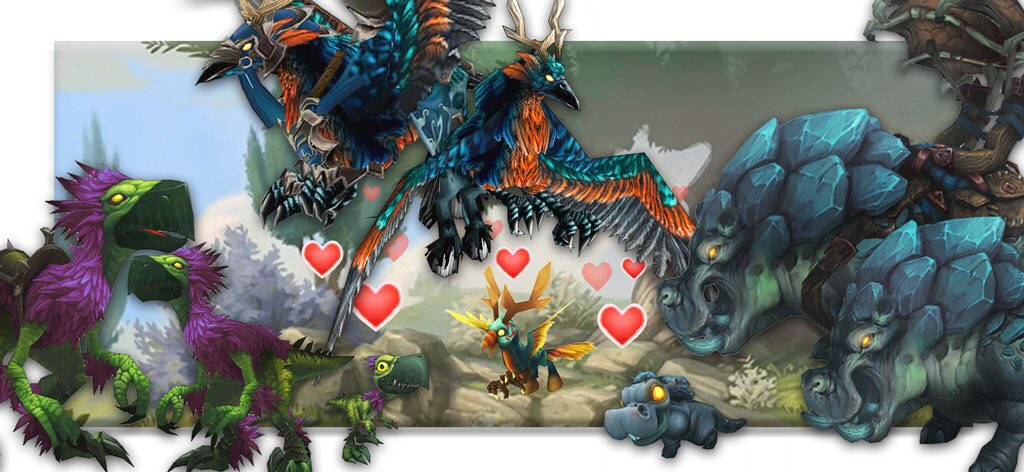Petopia: Hunters Match Your Pets With Battle Pets!
