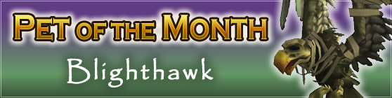 Blighthawk - Pet of the Month August 2017
