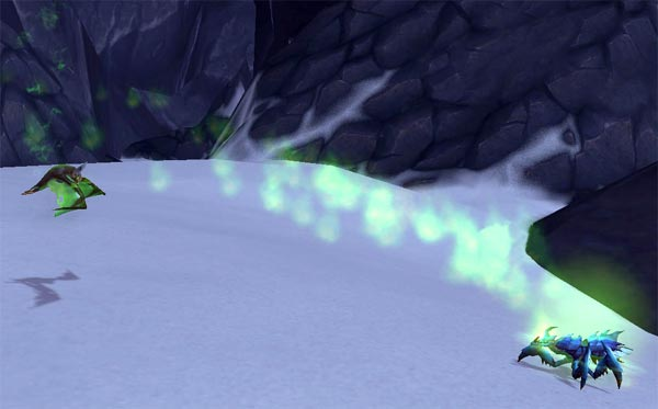 Felbat Pup using Fel Immolate