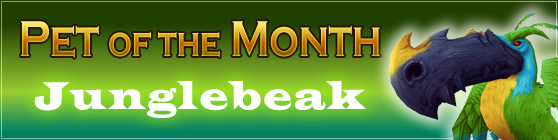 Junglebeak - Pet of the Month: May 2015