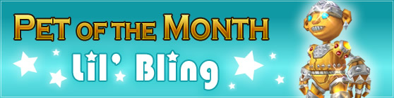 Lil' Bling - Pet of the Month: April 2015