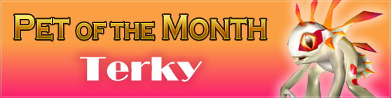 Terky - Pet of the Month: November 2015