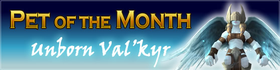 Unborn Val'kyr - Pet of the Month: March 2015