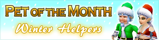 Winter Helpers - Pet of the Month December 2017