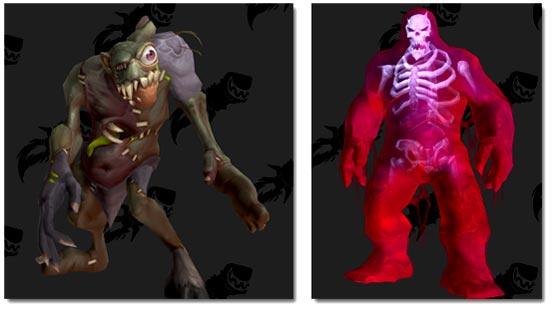 PH Abomination and PH Skeleton Slime