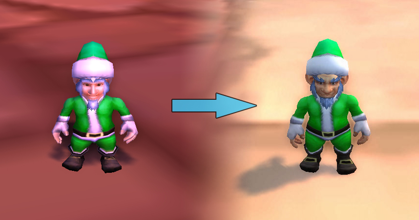 Father Winter's Helper model update