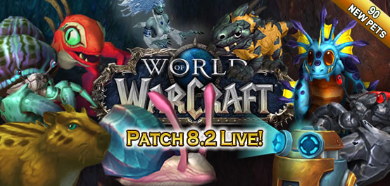 Patch 8.2 - 90 new pets, Stratholme Pet Dungeon and more!