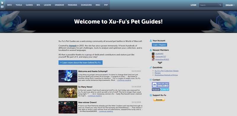 Xu-Fu's Pet Guides