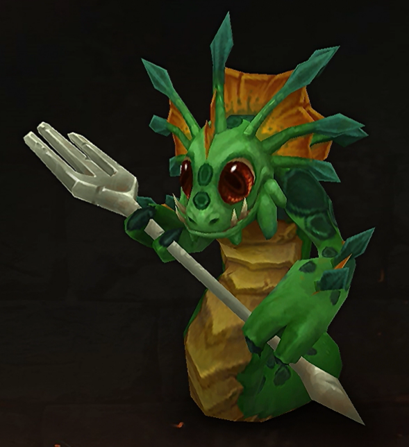 Upcoming baby naga pet