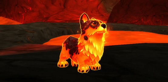 WoW 10th anniversary pet: Molten Corgi
