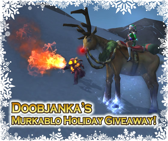 Doobjanka's Murkablo Holiday Giveaway