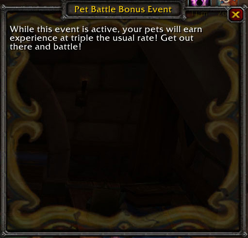 Pet Battle Bonus Event