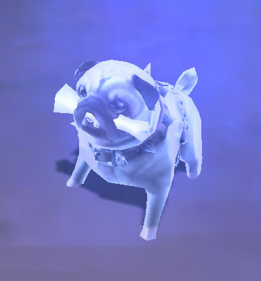 Spirit Wand used on Perky Pug with Indestructible Bone