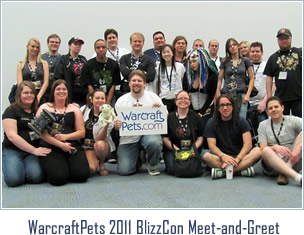 WarcraftPets 2011 BlizzCon Meet-and-Greet
