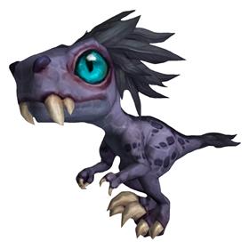 Baby Zandalari Raptor