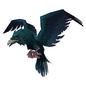 Cobalt Raven
