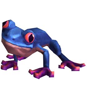 Fleeting Frog