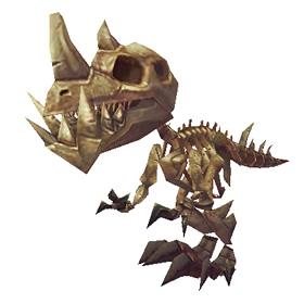 Fossilized Hatchling
