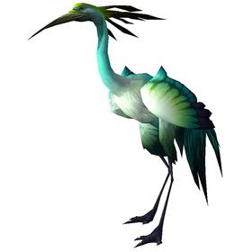 Pearlwing Heron