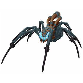 Rebuilt Mechanical Spider