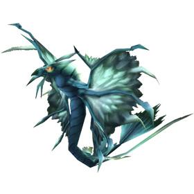Silver Dragonhawk Hatchling