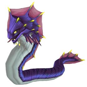 Violet Abyssal Eel