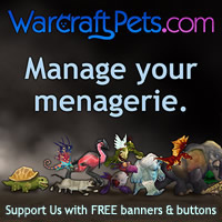 WarcraftPets banners and buttons